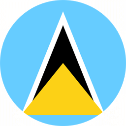 saint-lucia-flag-round-icon-256