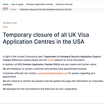 UK HOME OFFICE- TRAVEL BAN UPDATES May 7